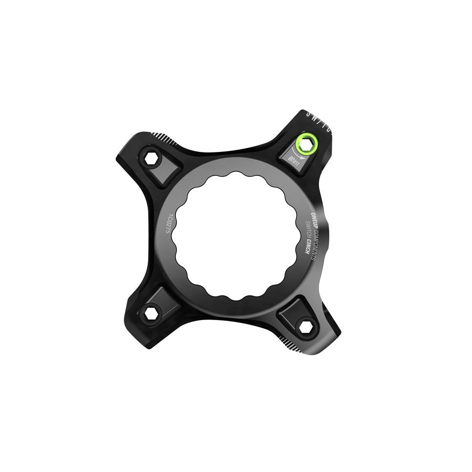 OneUp Components Switch carrier, Race Face Cinch - black MPN: 1C0374BLK Crank Spider Switch Carrier