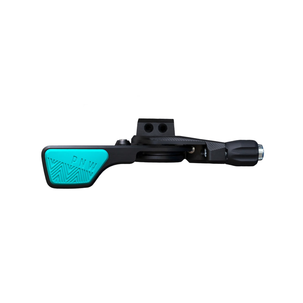 PNW Loam Lever Dropper Post Lever Kit, MMX Clamp, Black/Teal