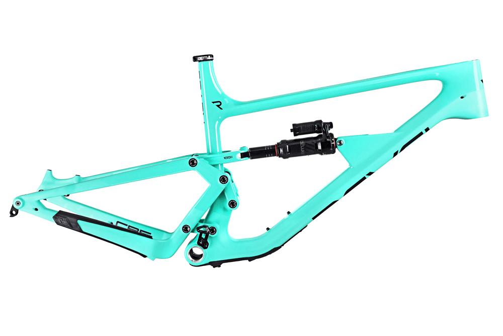 Revel Rail Frame with Super Deluxe RCT Mint Green Chocolate Chip X-Large