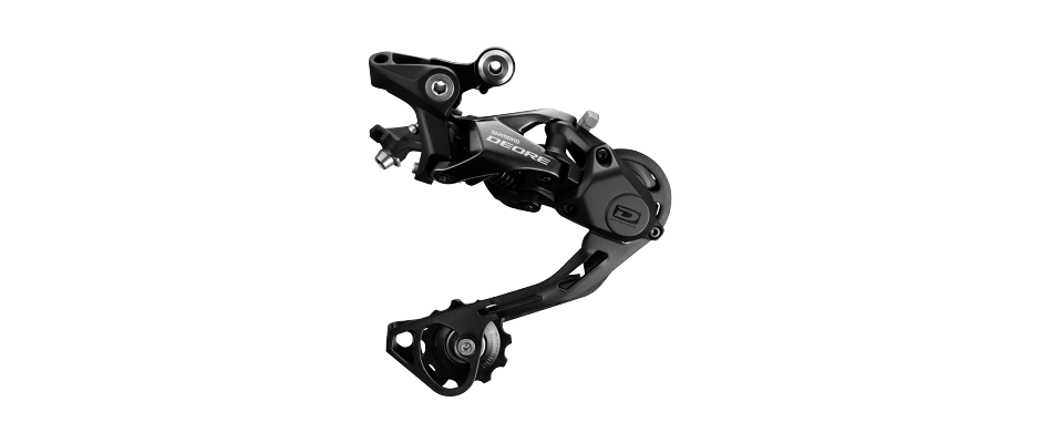 Shimano Deore RD-M6000-GS Rear Derailleur - 10 Speed, Medium Cage, Black MPN: IRDM6000GS UPC: 689228413245 Rear Derailleur Deore RD-M6000 Rear Derailleur