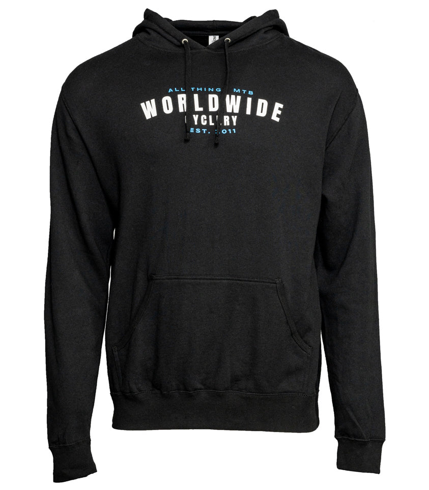 Worldwide Cyclery ALL Things MTB Hoodie Black Medium
