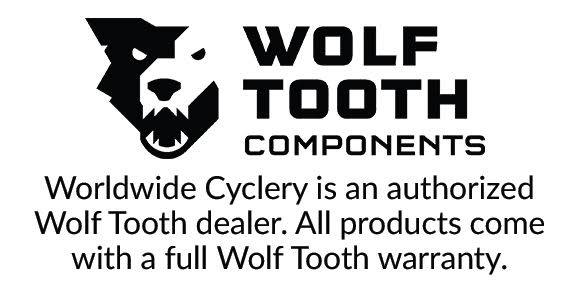 Wolf Tooth 96 Symmetrical BCD Chainring - 32t, 96 BCD, 4-Bolt, Drop-Stop, For Shimano Cranks, Black - Chainring - 96 Symmetrical BCD Chainrings