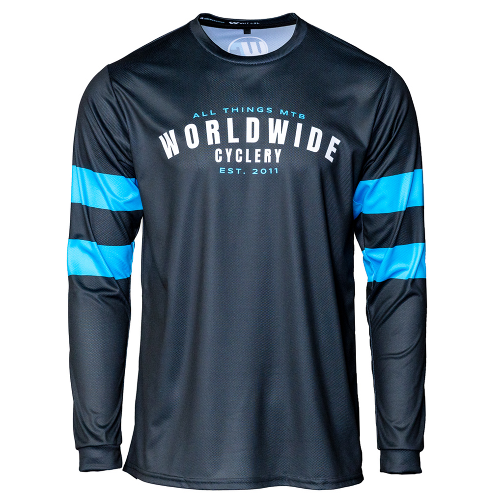 Worldwide Cyclery Jersey - Classic Long Sleeve, Large