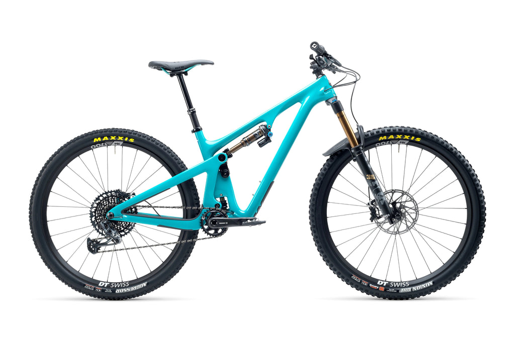 Yeti SB130 TURQ Series Complete Bike w/ T2 Build Large Turquoise