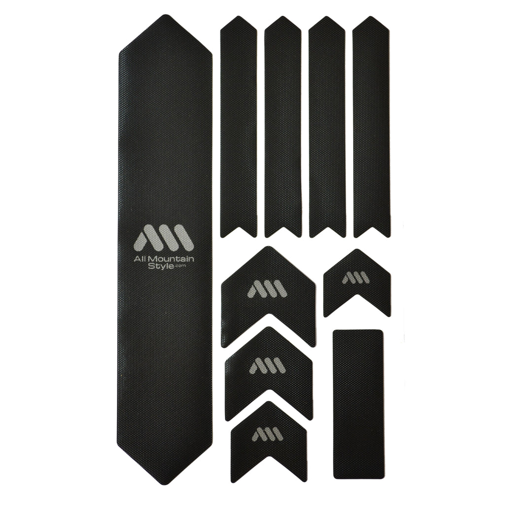 All Mountain Style Honeycomb Frame Guard XL, Black/Silver