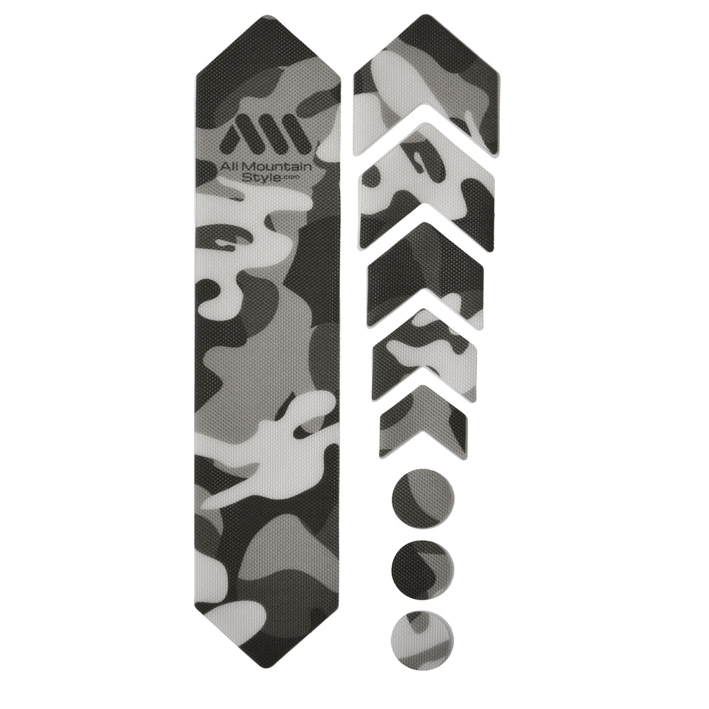 All Mountain Style Honeycomb Frame Guard, Clear/Camo