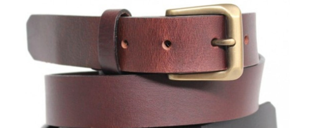Belt Brown 32 mm removable buckle