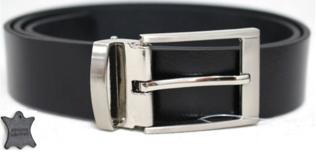 Belt Black 35 mm removable buckle