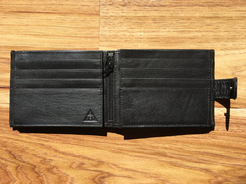 Wallet RFID lined Cow Hide