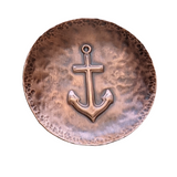 Anchor Copper Ring Dish