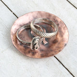 Hot Air Balloon Copper Ring Dish