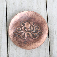 Octopus Copper Ring Dish