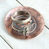 Happy Whale Copper Ring Dish
