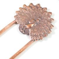 Peacock Copper Hair Fork