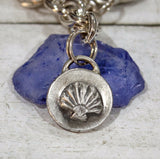 Sea Shell Sterling Silver Charm