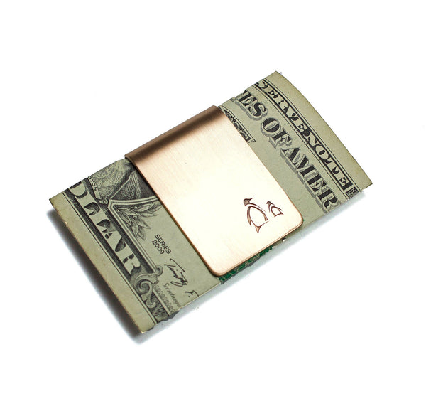 Penguin Parent and Child Money Clip