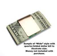 Wedding Rings and Heart Money Clip