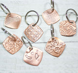 Celtic Knot Copper Keychain