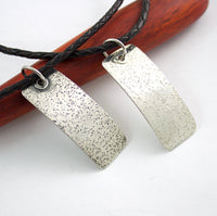 SPECKLES Sterling Silver Pendant For Him Her Them