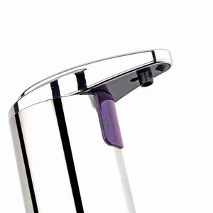 Stainless Steel Automatic Soap Dispenser bottom view