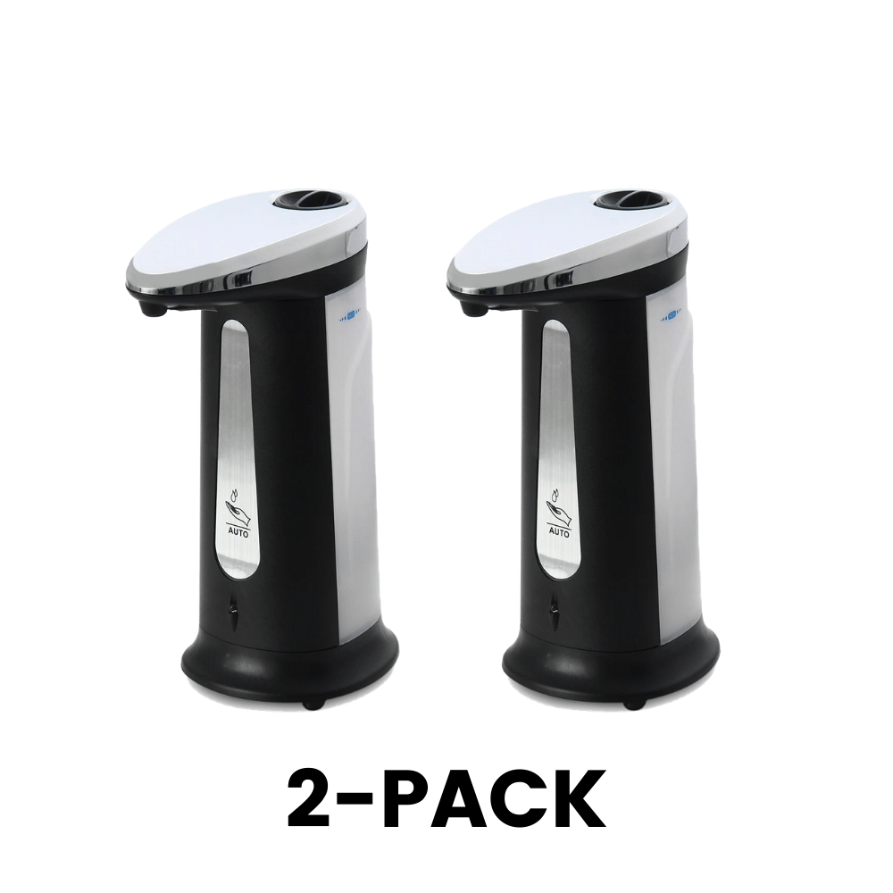 Automatic Soap Dispenser comes in a 2-pack