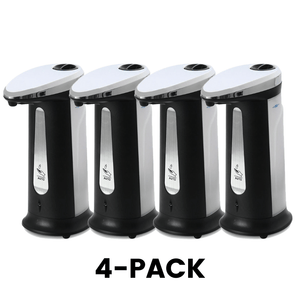 Automatic Soap Dispenser comes in a 4-pack