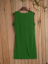 Load image into Gallery viewer, Cotton Casual Sleeveless Dresses