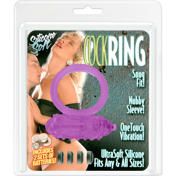 Soft Cock Ring Vibrator