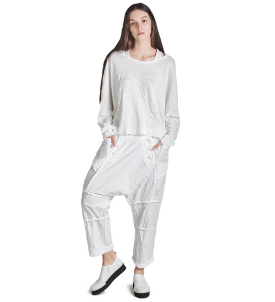 MOSSO Trousers in White