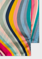 Women's Long 'Swirl' Silk Scarf