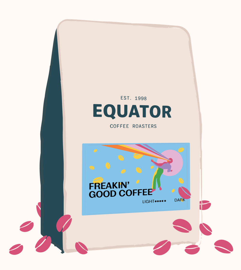 Prepaid Coffee Subscription - Monthly for 6 months