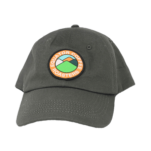 Equator Hat - Khaki Ball Cap with Crest