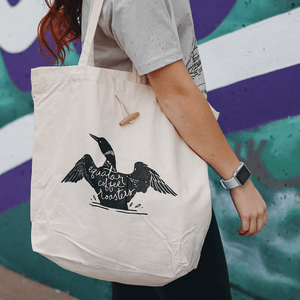 Recycled Cotton Super Tote - Loon