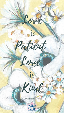 Love Is Patient_Lock Screen_Nicole May Lesher