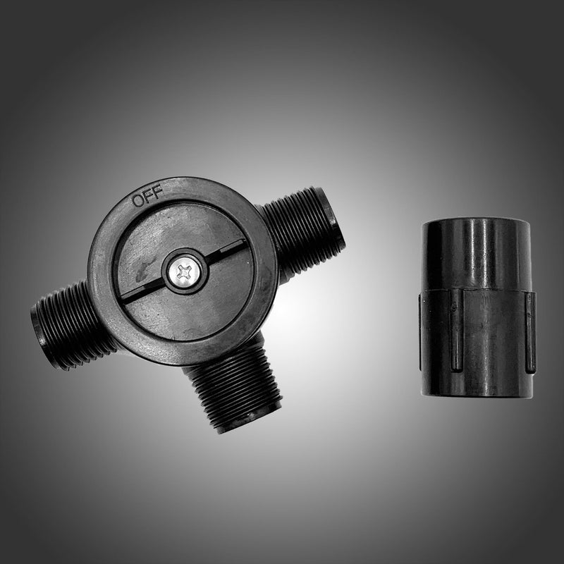 "Pondmaster 1/2"" Adjustable 3-Way Diverter Valve"