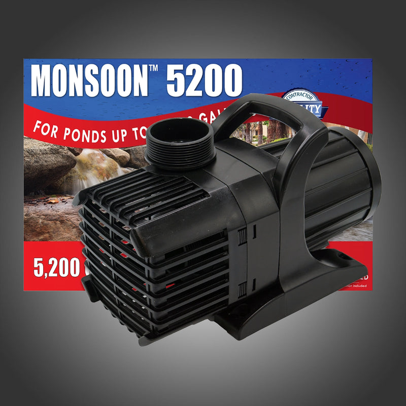 LAKE FLOATING FOUNTAIN PUMPS - ANJON MONSOON WITH 100 - 200' FOOT CORD --- In-Store Pickup Only