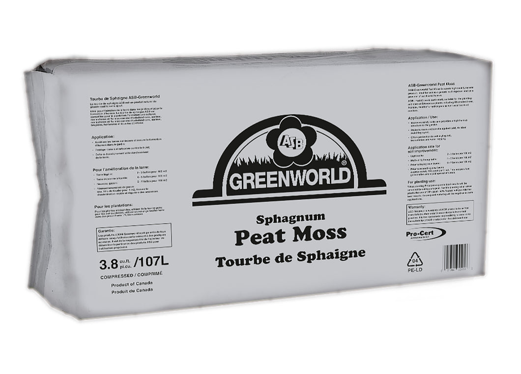 Peat Moss (Compressed) - 3.8cuft