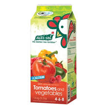 Acti-Sol Tomatoes & Vegetables - Milk Carton - 4-6-8 - 1.5KG