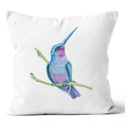Contemporary Refuge Vibrant Hummingbird Indoor Pillow