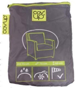 "Cov'up Chair Patio Furniture Cover 35"" X 35"" X 35"" ONLY AVALIABLE IN STORE"