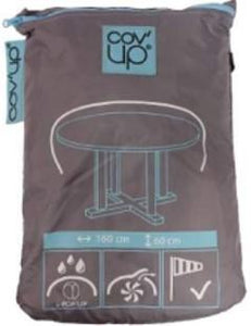 "Cov'up Round Table Patio Furniture Cover 63"" X 24"""