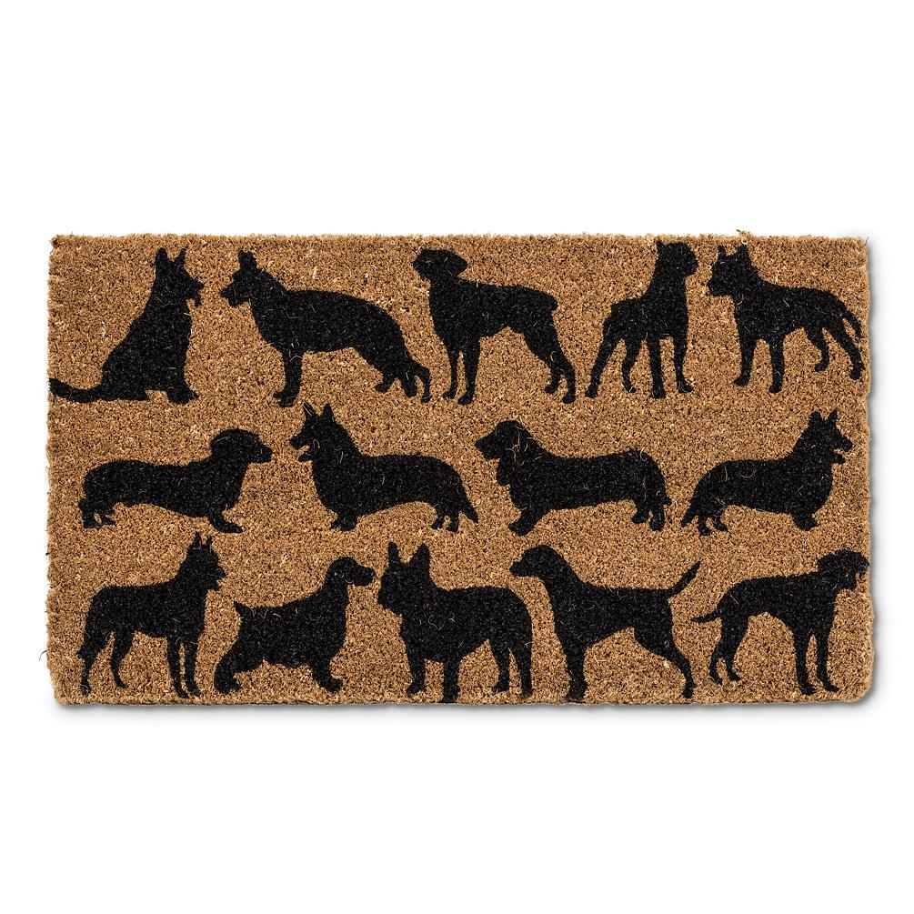 DOG SILHOUETTE Doormat 18x30