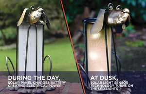 "Dog Solar Lantern 8.8"" SOLD OUT"