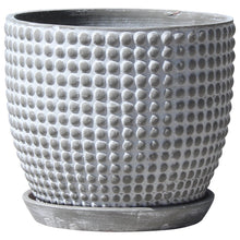 "Load image into Gallery viewer, Dotted Egg Pot 15"" Diameter"