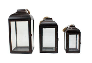 Stylish Bronze Lanterns