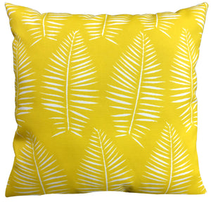 Breeze Yellow Outdoor Pillow 16 x 16