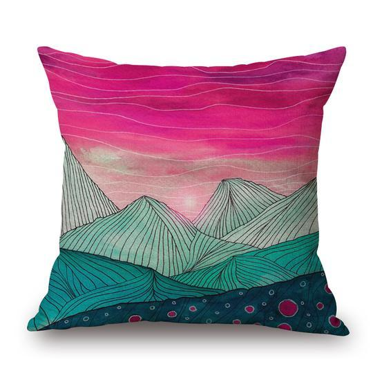 Landscape Indoor Pillow 18