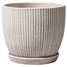 "Load image into Gallery viewer, Lined Egg Pot 12.5"" Diameter"