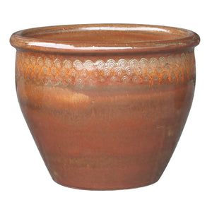 "Peacock Majestic Planter 6.25"" Diameter ON SALE!"