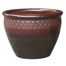 "Load image into Gallery viewer, Peacock Majestic Planter 12.5"" Diameter"